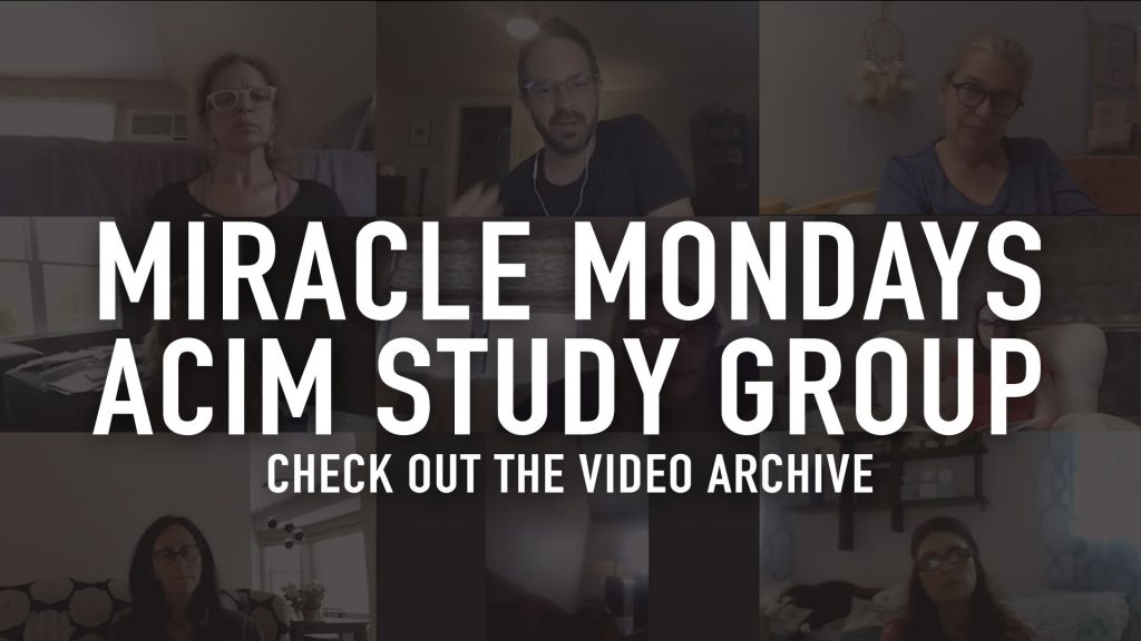 A Course in Miracles Study Groups at The Living Room